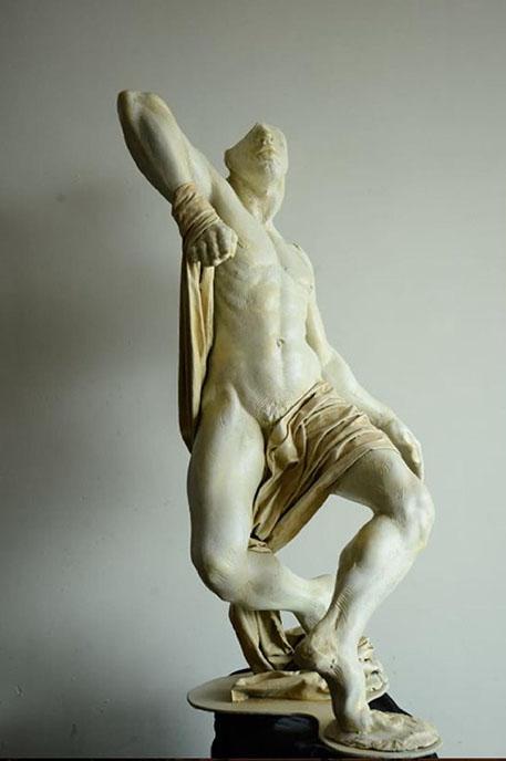 JIBRAN SHAHID<br></br>Sculpture<br></br>5 X 3 feet<br></br>2019
