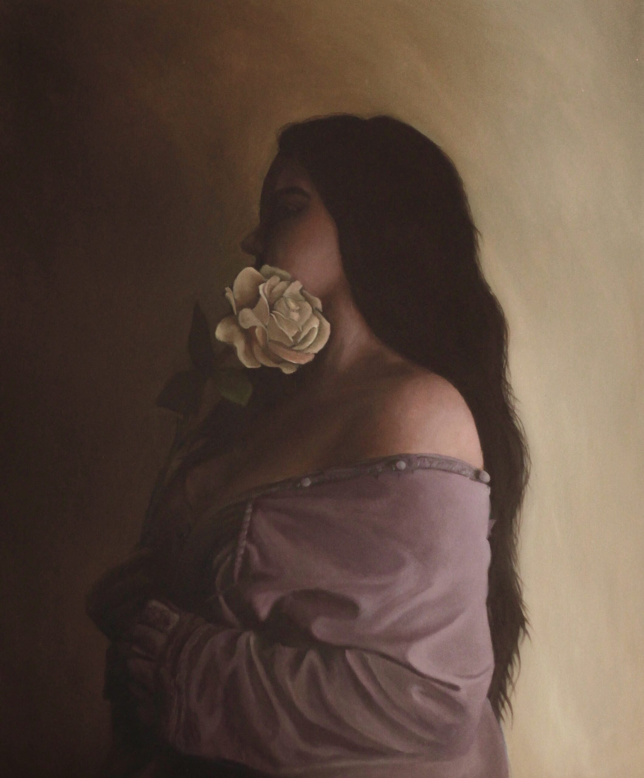 Marwa Hafeez<br></br>Untitled<br></br>Oil On Canvas<br></br>37x29 inches